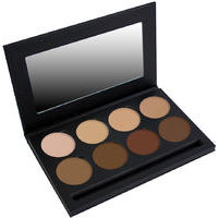 Bodyography Silk Cream Foundation Pallete - 8 toņu konturēšanas palete