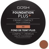 Gosh Foundation Plus + Creamy Compact High Coverage - krēmveida pūderis