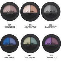 Gosh Matt Duo Eye Shadow - Matētas acu ēnas