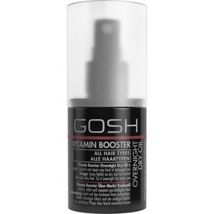 Gosh Vitamin Booster Overnight Dry Oil - Sausā matu eļļa, 75ml