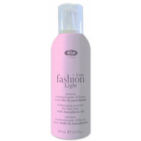 LISAP Fashion Light  Apjoma putas smalkiem matiem ar makadamijas eļļu -Volumisisng Mousse, 200 ml