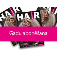 Magazine HAIR & BEAUTY profesionāļiem - subscribe to 1 year