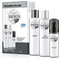 Nioxin SYS 2- System 2 delivers denser-looking hair while strenghtening against damage (150+150+40)