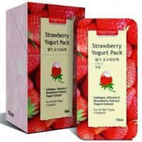 Purederm Strawberry Yogurt Pack - Jogurta maska sejai Zemene