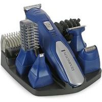 REMINGTON All All in one grooming kit - Advanced Titanium - Cord/Cordless - USB - Blue-  matu griešanas mašinīte vīriešiem, komplekts