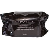 Bodyography Cleansing wipes - Make-up attīrošas salvetes, 50gab