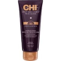 CHI Deep Brilliance Olive & Monoi Leave-In Treatment - neskalojams atjaunojošs komplekss, 177ml