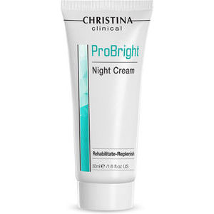 Christina Clinical ProBright Night Cream Rehabilitate Replenish - Atjaunojošs nakts krēms, 50ml