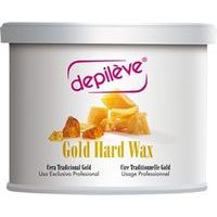 Depileve Gold Hard Wax -  Dabīgais tradicionālais vasks bundžā, 400ml