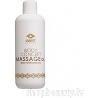 GMT Beauty Massage Oil with peppermint oil - Piparmētru masāžas eļļa, 500ml