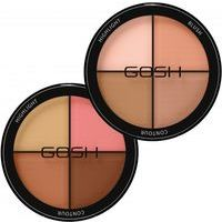 Gosh Contour'n Strobe Kit -  4 in 1: Highlights, Blush and 2xContour