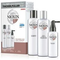 Nioxin TRIALKIT SYS 3 amplifies hair texture and restores moisture balance (150+150+50)