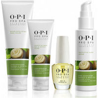 OPI Pro Spa Manicure Trial Kit micro exfoliating hand polh 118ml, protective hand, nail&cuticle cream 50ml, nail&cuticle oil 14.8ml, protective hand serum 60ml