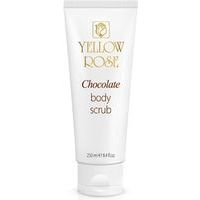 Yellow Rose Chocolate Body Scrub - Šokolādes skrubis ķermenim ar dabīgo Kakao, 250ml