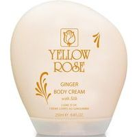 Yellow Rose Ginger Body Cream With Silk - Pretcelulīta ķermeņa krēms ar 23K Zeltu, 250ml